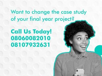 The Impact Of Health Care Insurance Plans:A Case Study Of Luth In Idi-Araba, Surulere, Lagos