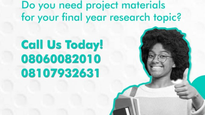 Analysis Of Single And Multi-Teller Models Or Using Simulation For Reducing Waiting Time A Case Study Of First Bank And Eco Bank, Nig. Ltd